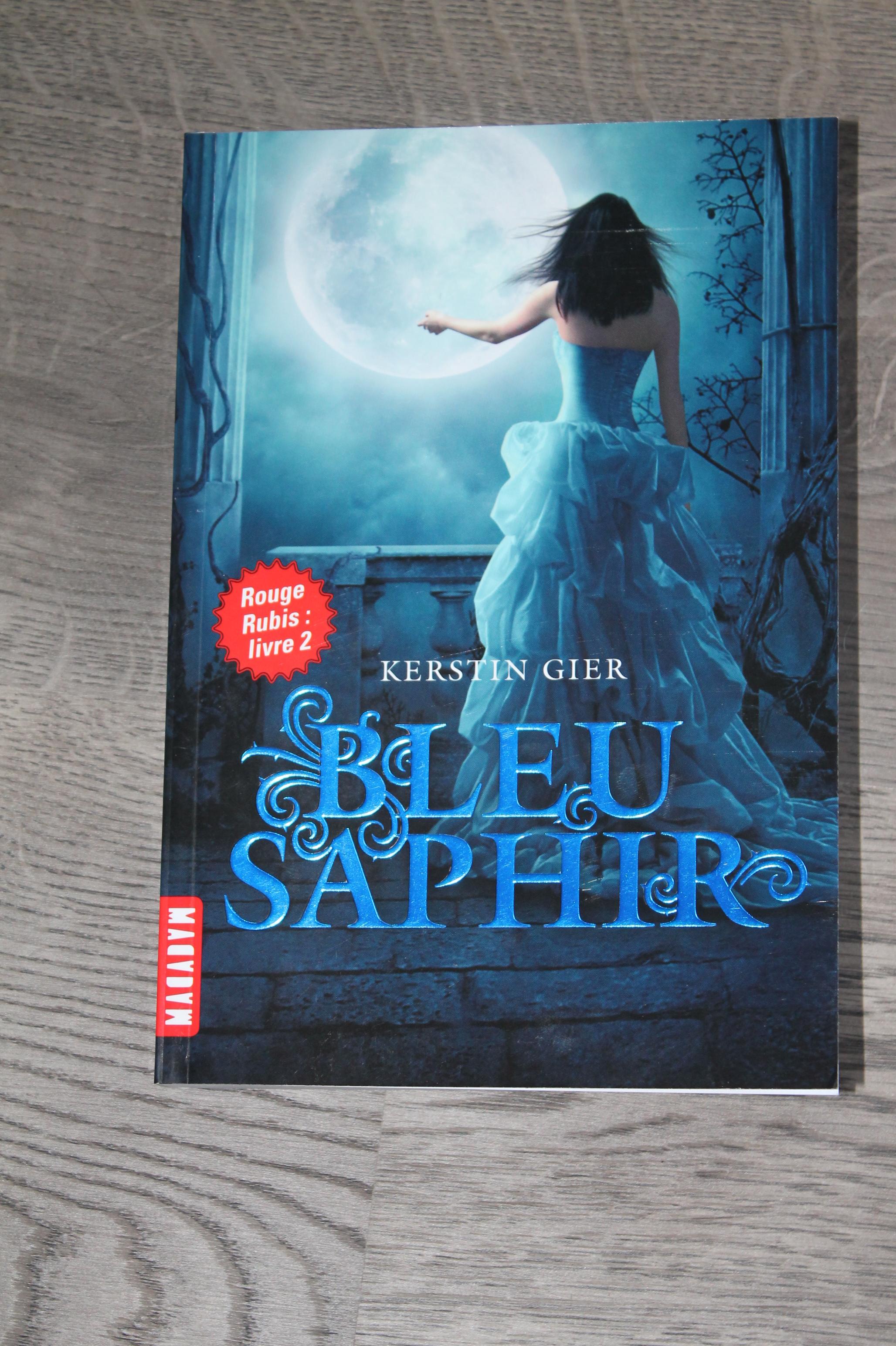 Avis Bleu Saphir De Kerstin Gier La Croque Livres