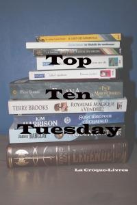 Top Ten Tuesday #56 Les 10 livres qui m'ont fait lever les yeux au ciel